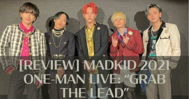 REVIEW: MADKID ONE-MAN LIVE: GRAB THE LEAD